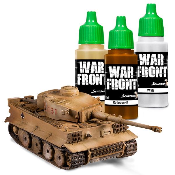 Warfront range. Individual colors