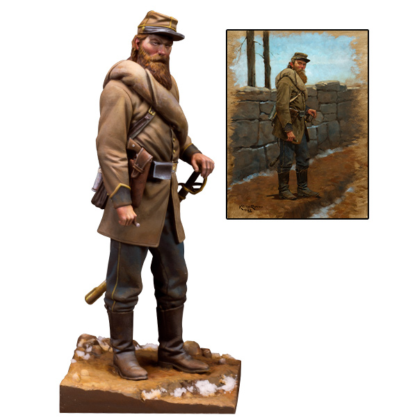 Lee's Miserables. 75mm - 1/24 scale figure