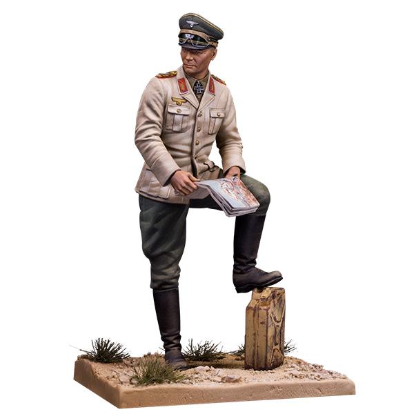 Generalfeldmarschall Rommel. 1/35 scale