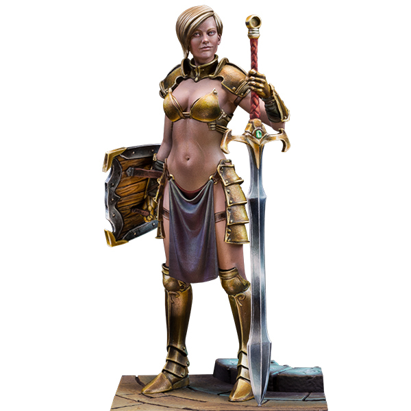 75mm fantasy figure. Keera, blade of justice