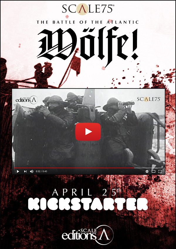 NEW KICKSTARTER CAMPAING. WOLFE. APRIL 25th