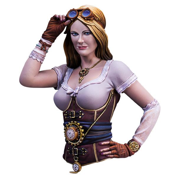 1/12 scale bust. Irina Meier, cosplayer