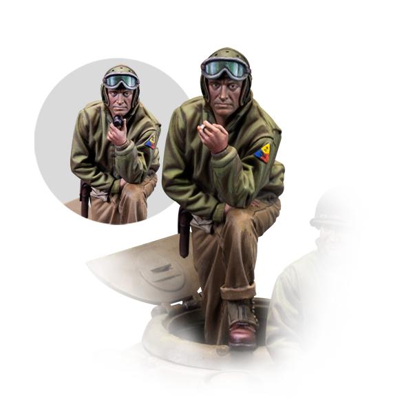 1/35 scale figure. Master sergeant