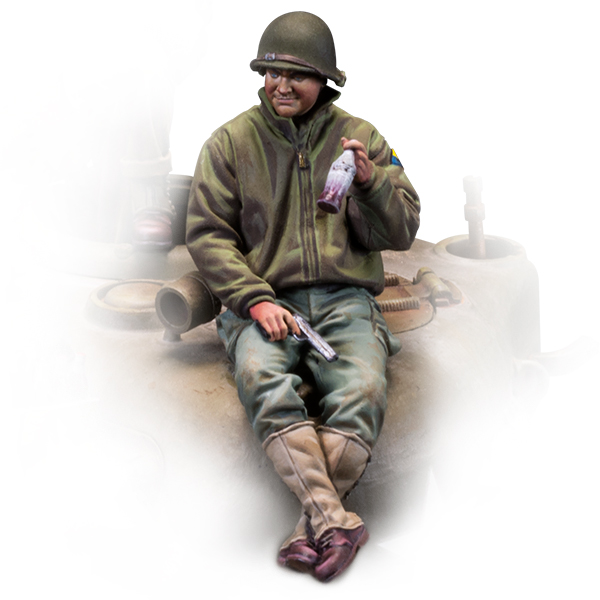 1/35 scale figure. Technical corporal