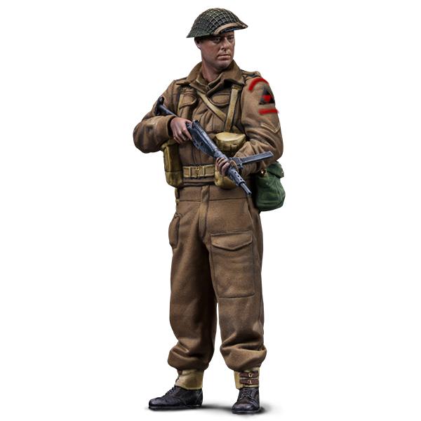 1:35 scale figure. Lance Corporal. Warfront series