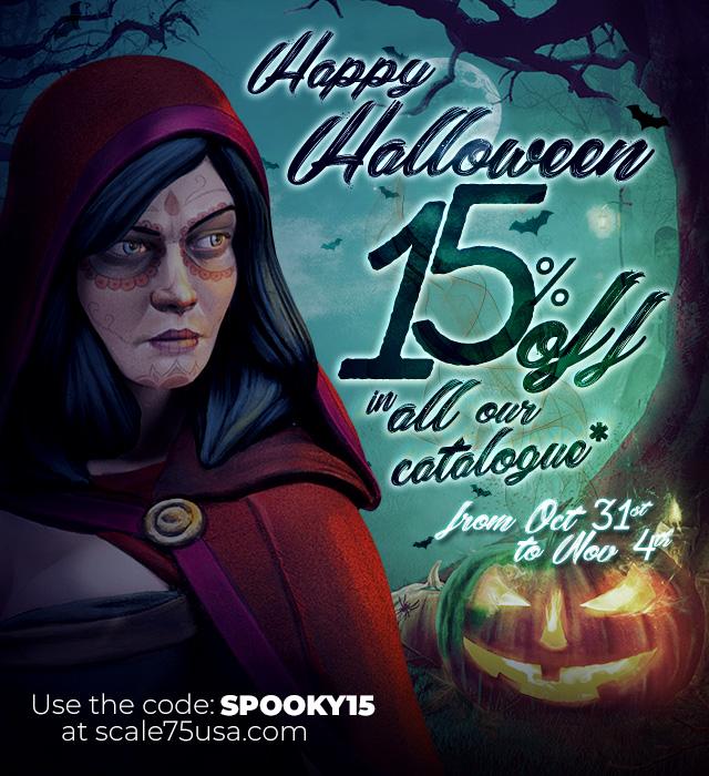 Halloween Offers. 15% off
