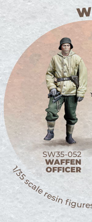 WAFFEN OFFICER • WARFRONT • 1/35 SCALE FIGURES