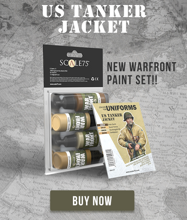 US TANKER JACKET • WARFRONT • PAINT SET