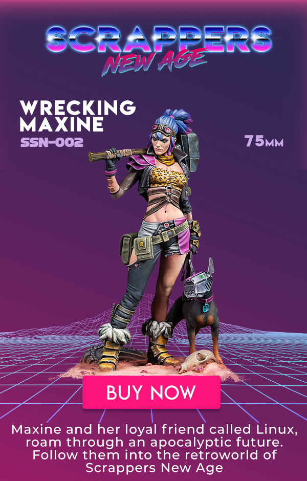 WRECKING MAXINE • NEW FIGURE • 1:35 SCALE