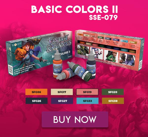 FANTASY & GAMES • BASIC COLORS II • PAINT SET